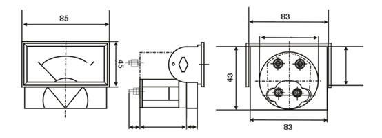 Jy 69l17 Panel Meter Panel Meter Series Yueqing