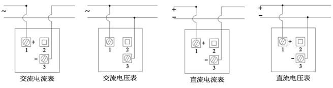 指针式电流表测量仪表