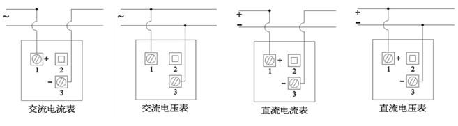 配电柜指针电流表接线图