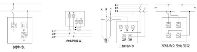60mv.50mv 直流电压表 v 1.5 3v-600v 直接接通 直流电压表 kv 1.