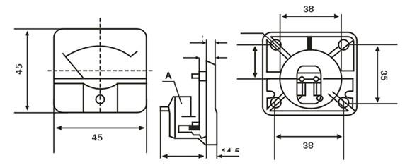 91c4 电流电压表